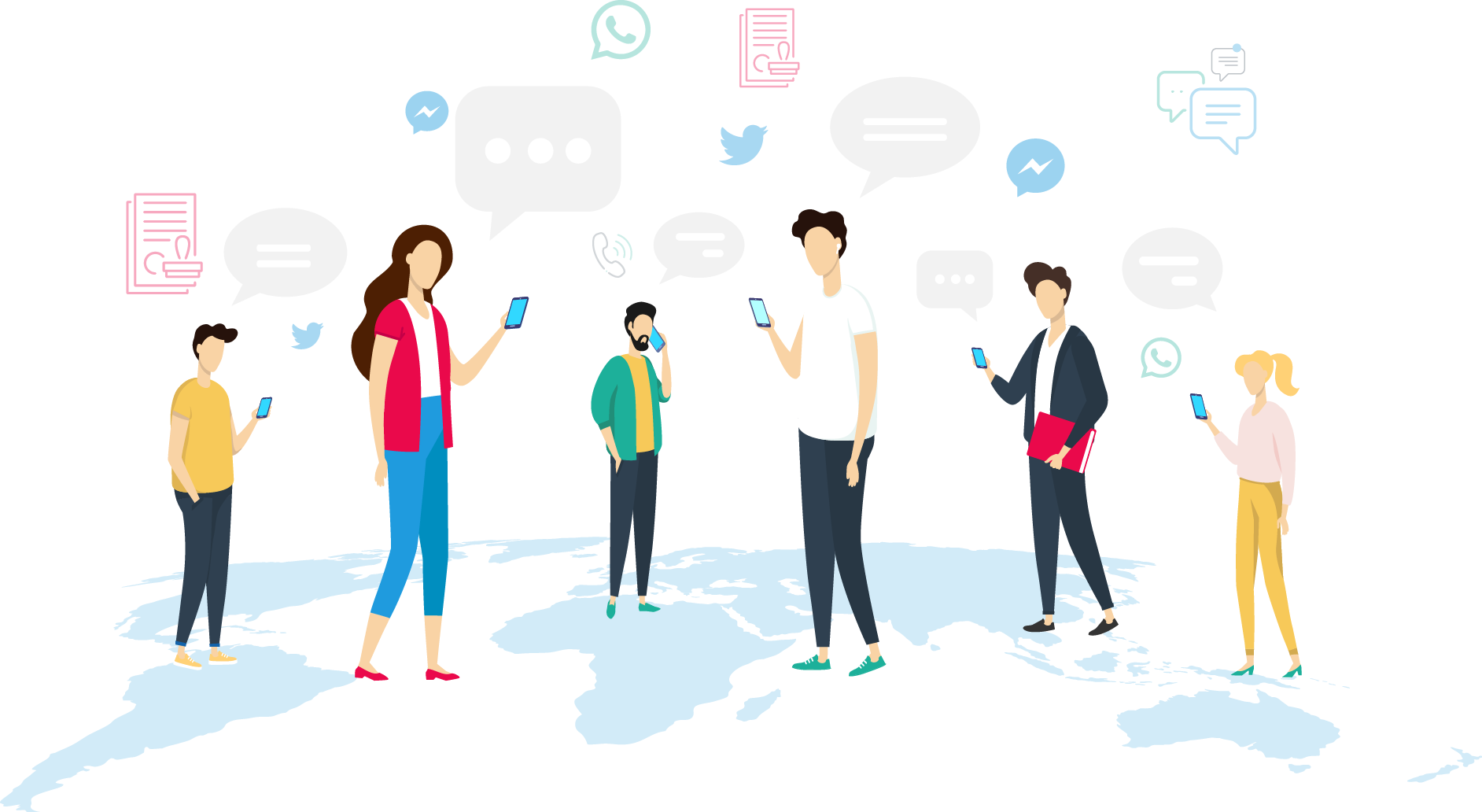 Communication Channels Are Global, Customers Are Local